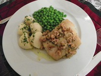 Roasted Fillets of Pollack with Brown Shrimps (8)